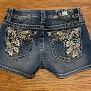 Never Worn Miss Me shorts